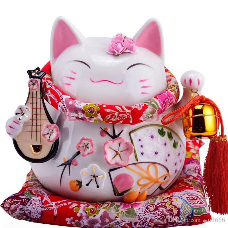 2018 Jinhee Lucky Cat Savings Piggy Wedding Gift Birthday Gift Store