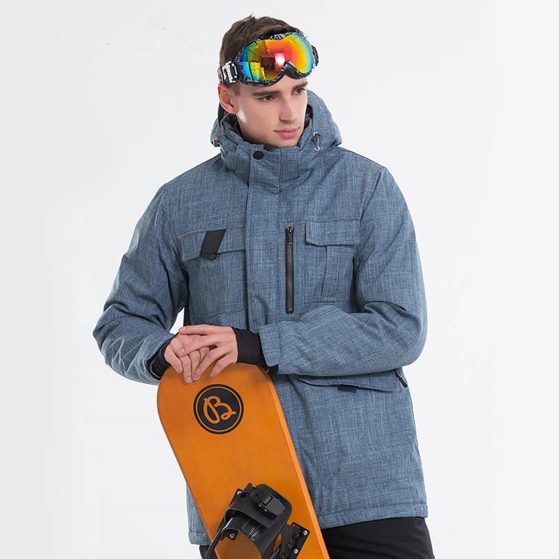 últimos lanzamientos auténtico proporcionar una gran selección de Hombres Chaqueta de esquí Chaqueta de snowboard Para hombre Pantalones de  esquí A prueba de viento Trajes a prueba de viento Abrigo y pantalones Ropa  ...