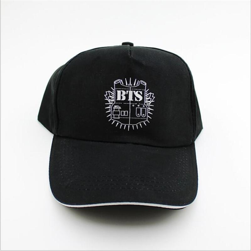 05fb349d21b YOUPOP KPOP Hat For BTS New Fashion Design Classic Black Baseball Cap Hip  Hop Cap Wholesale P8073 Kangol Baseball Caps From Value222