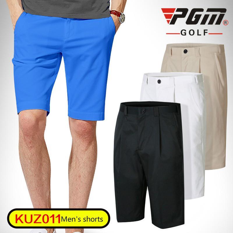4198aac2084f PGM Men Golf Shorts Summer Quick Dry Golf Sports Knee Length Shorts ...