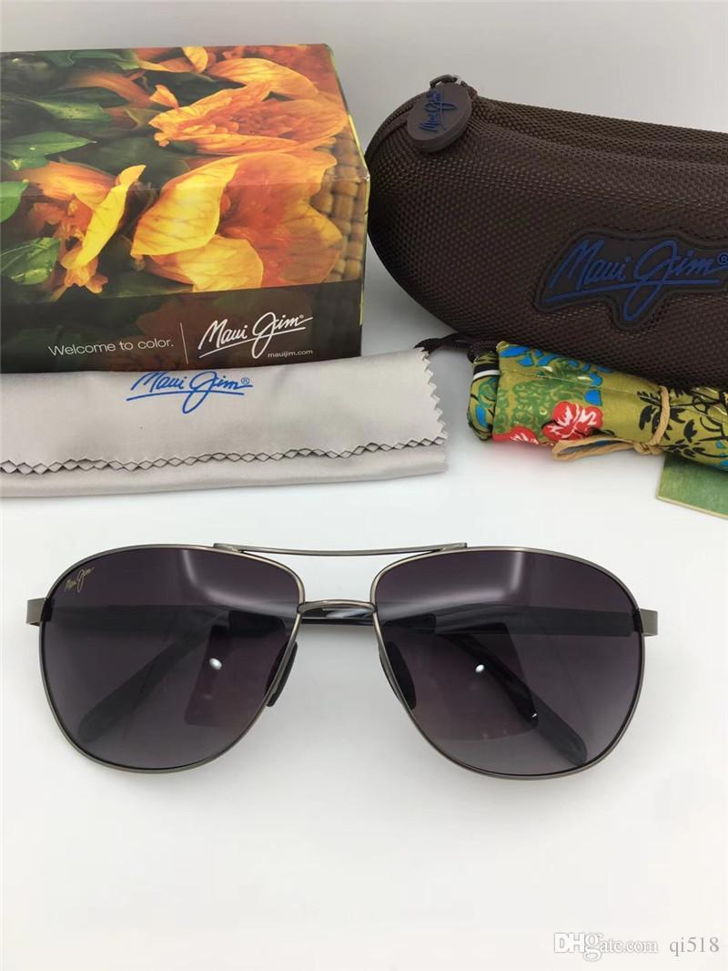 b08d40abf23 Maui Jim Sunglasses 728 Polarized Lens Sun Glasses MJ728 Polarized  Sunglasses Men Women MJ Sports Super Light Glasses For Driving with Case  Sunglasses Frame ...
