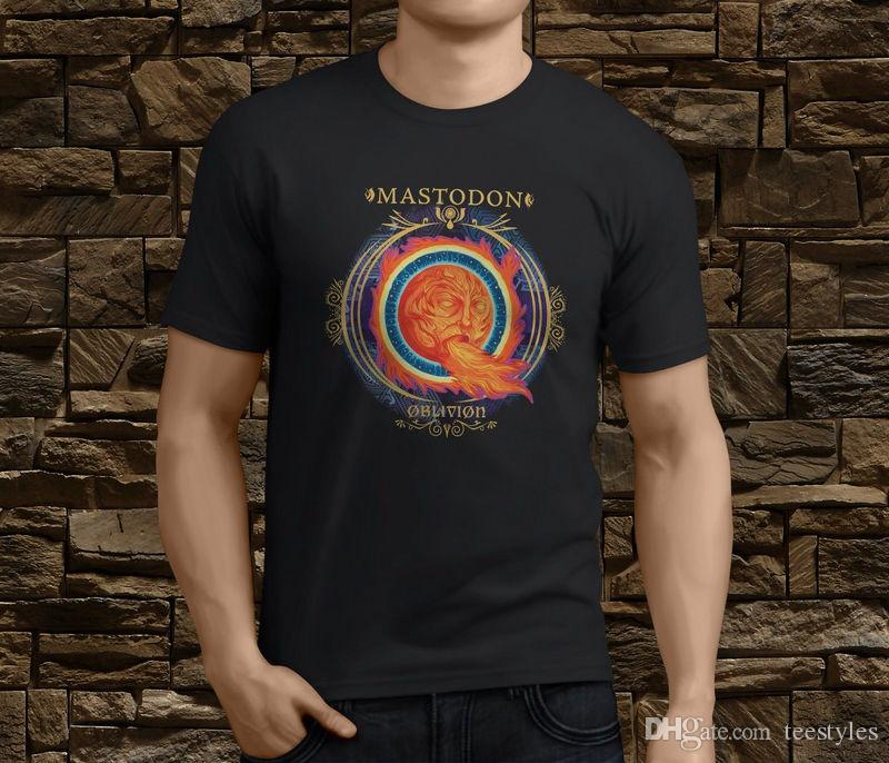 8bc1c1a7fcb08 Compre New Mastodon Crack The Skye Heavy Metal Band Camiseta Para Hombre  Talla S 3Xl Camiseta Hombre Boy Mejores Ofertas Blanco Manga Corta  Personalizada ...