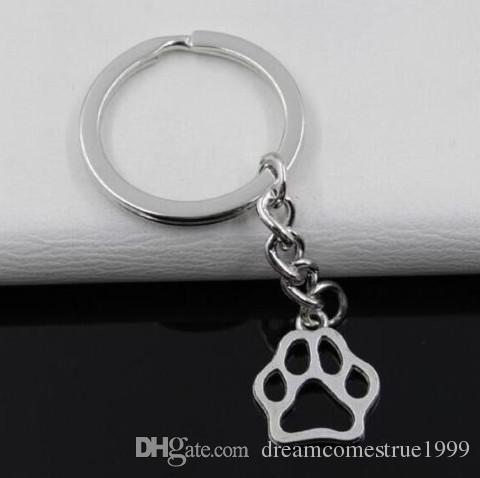 / مفتاح حلقة سلسلة المفاتيح مجوهرات الفضة مطلي باو السحر طباعة 19 17mm و*