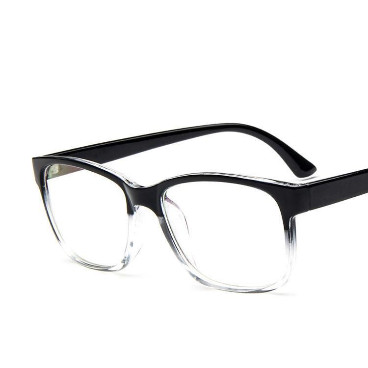 2018 Oversize Nerd Computer Google Eyewear Frames Male Eyeglasses ...