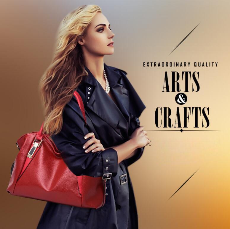 Fashion Designer Women Handbag Female PU Leather Bags Handbags Ladies Portable Shoulder Bag Office Ladies Hobos Bag Totes