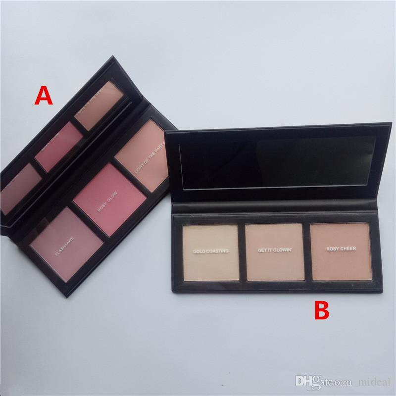 Stable Quality Hyper Real Glow Palette FLASH+AVE GET IT GLOWIN Highlighter Blush Palette