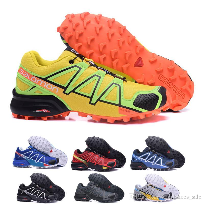 Sapato Hombre Masculino Laufschuhe Neue 4 Orange Cross Speedcross Speed Schuhe Iii 40 46 Sneakers Zapatos Herren Cs Sport Salomon Ia7Onaqf
