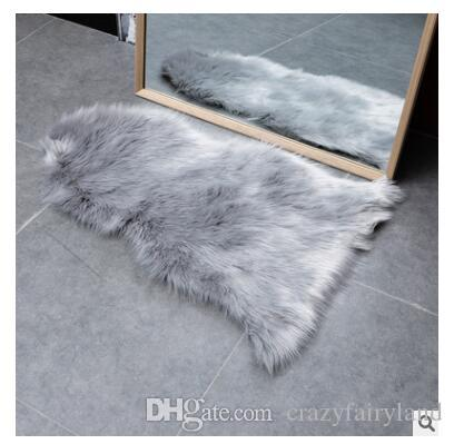 Prime Fur Artificial Hairy Carpet For Living Room Bedroom Rugs Skin Fur Plain Fluffy Area Rugs Washable Bedroom Winter Warm Home Decoration Mat Interior Design Ideas Oteneahmetsinanyavuzinfo