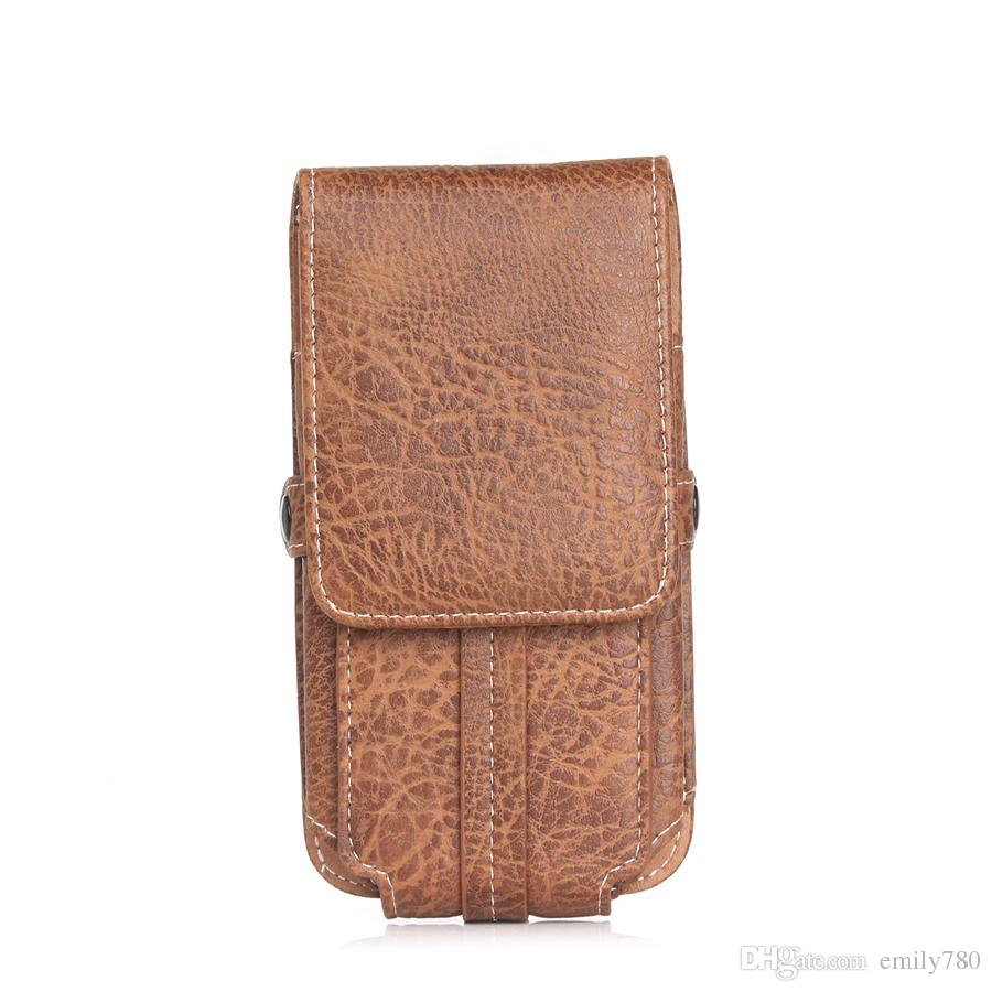 для iPhone 7 Plus кобура искусственная кожа кобура пояс карты сотовый телефон чехол с пряжкой для iPhone 8 Samsung Примечание 8 и более телефон под 6,3 дюйма