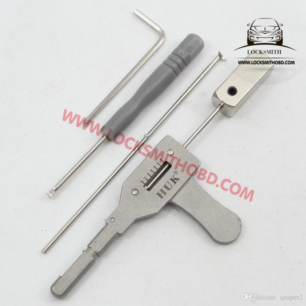 HUK lock pick Tool for the house lock and bank lock