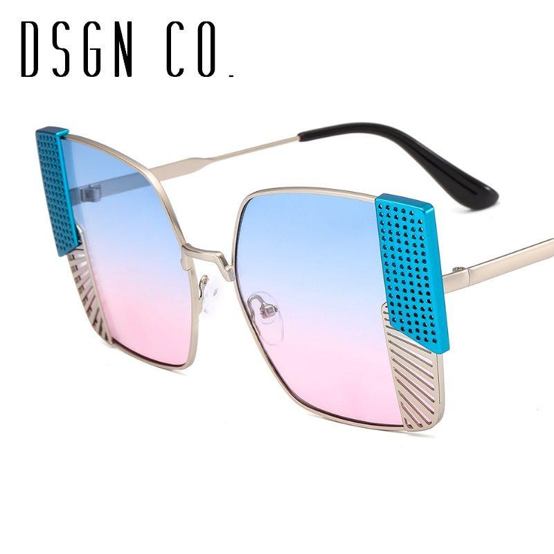 c33810c6597 DSGN CO. Newest Arrival Fashion Women Sunglasses Retro Brand ...