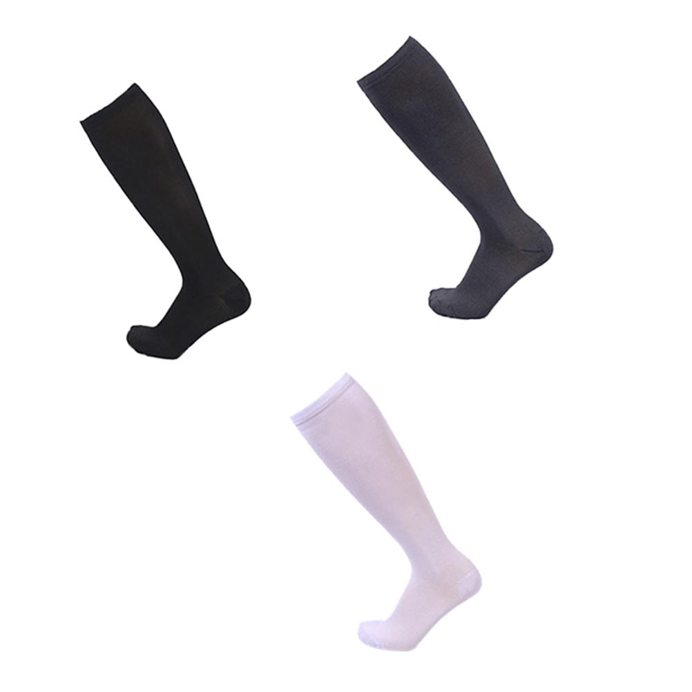 28253e5d0f2 2019 Women Men Compression Socks Knee High Stocking Nylon Sports Athletic  Running Socks For Exercise From Duriang
