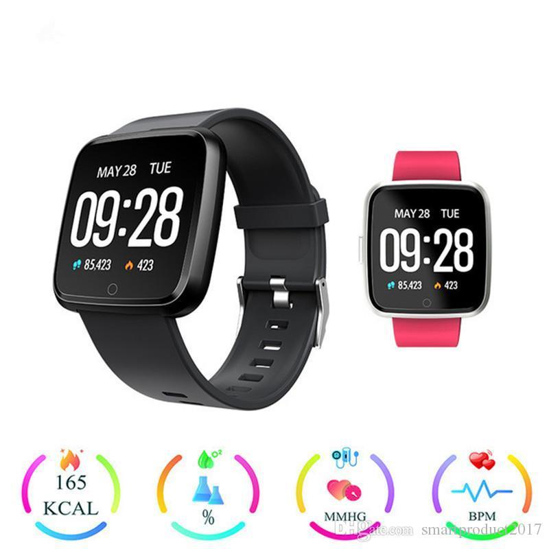 Sceltech Q8 Smart Armband Herz Rate Monitor Fitness Tracker Bluetooth Armband Wasserdichte Sport Smart Band Für Android Ios Intelligente Elektronik