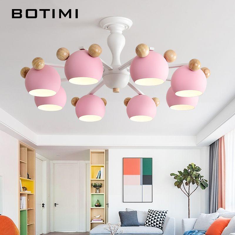 Großhandel kinder kronleuchter mit metall lampenschirme für schlafzimmer  holz kronleuchter beleuchtung weiß lustre moderne kinderzimmer lüster