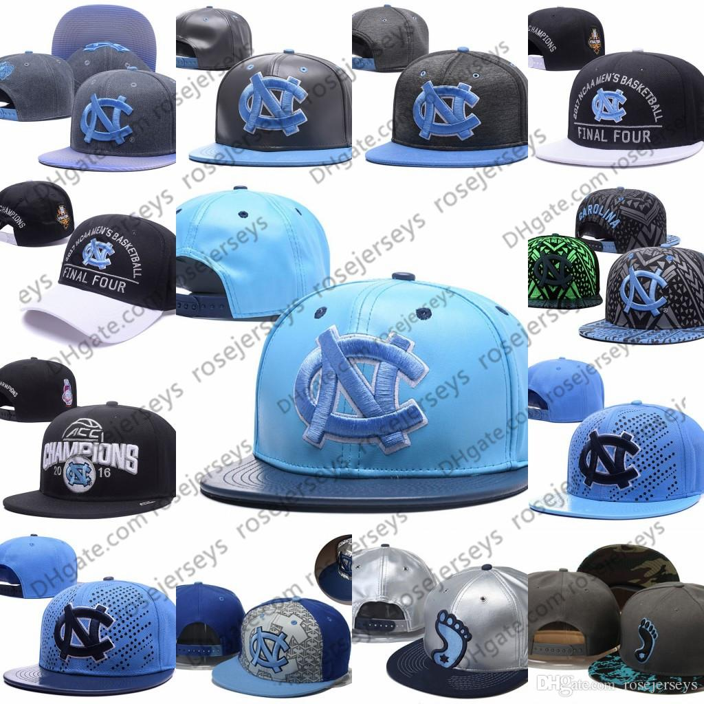 ef84bb70053 2019 NCAA North Carolina Tar Heels Caps 2018 New College Adjustable Hats  All University Snapback Gray Black Light Blue White UNC From Rosejerseys