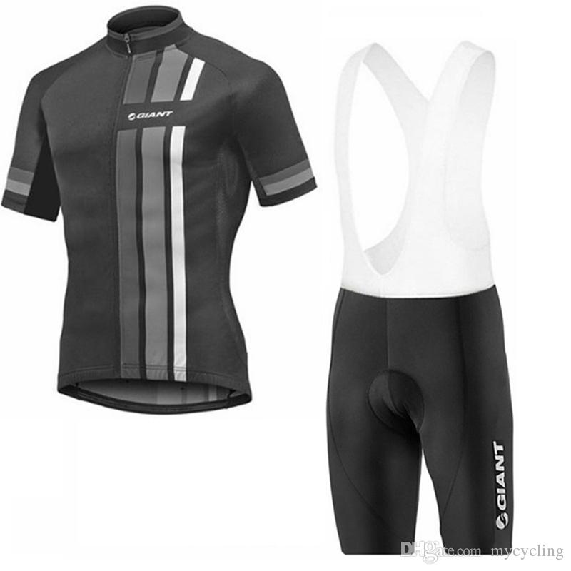 Ropa Ciclismo Giant Cycling Jersey Set 2018 Summer Short Sleeve Breathable  Maillot MTB Bicycle Sportswear Mountain Bike Clothing F2732 GIANT Cycling  Jersey ... dad4d65e8