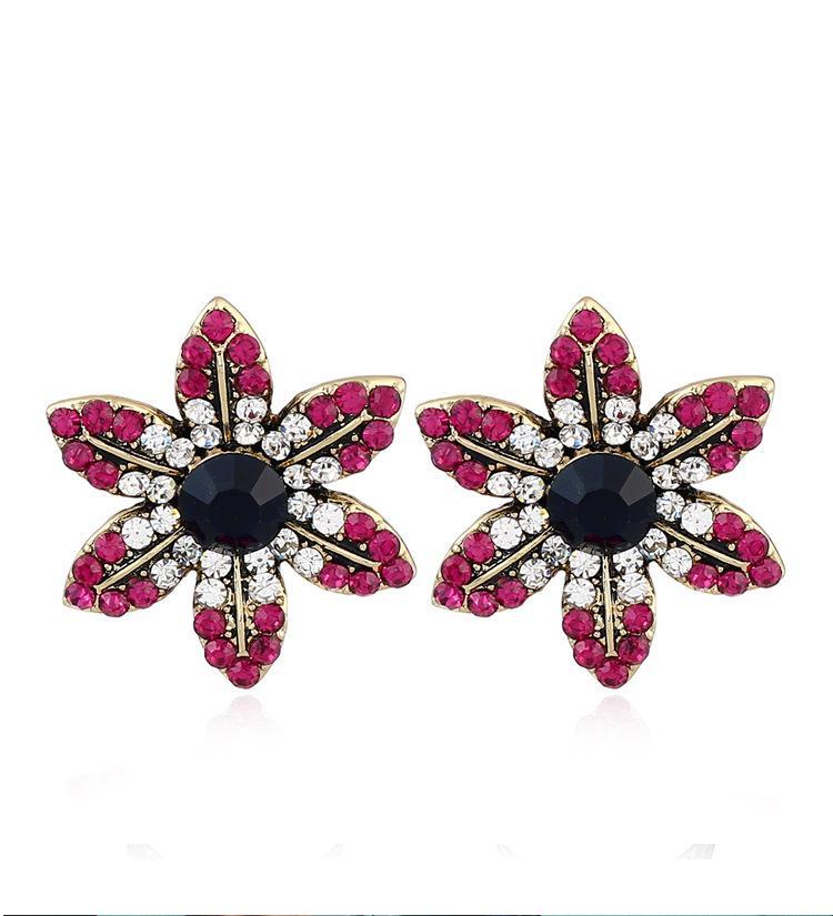 2018 Fashion Personality Daisy Earring Jewelry Beautiful Earring ...