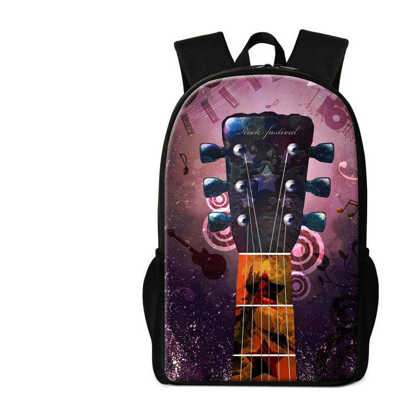 0b35eb944f ... School Bags For Children Pretty Backpack For Middle School Students  Musical Note Violin Pattern Rucksack Men Shoulder Bag Beach Bags Backpacks  For Girls ...