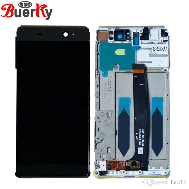 For Sony Xperia XA Ultra F3215 F3213 C6 full LCD Display Assembly Complete  with touch Digitizer sensor free shipping