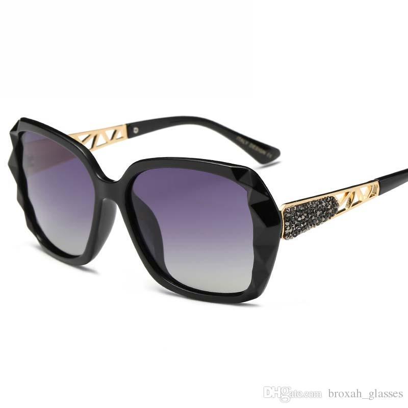 ae621e1c13 Retro Brand Polarized Sunglasses Women Fashion Ladies Driving Sun ...
