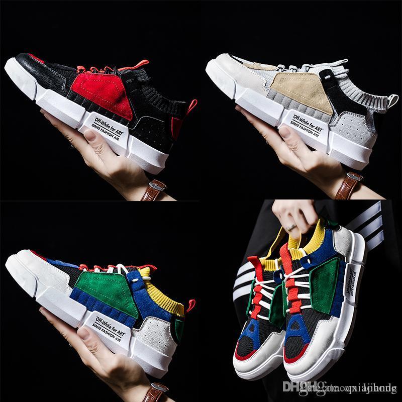 9b678ea79 Compre Zapatos De Letra De Estilo Chino Al Aire Libre Zapatillas De Correr  Ligero 97 S OG Triple Blanco Negro Verde Hombres De Los Zapatos De  Entrenador De ...