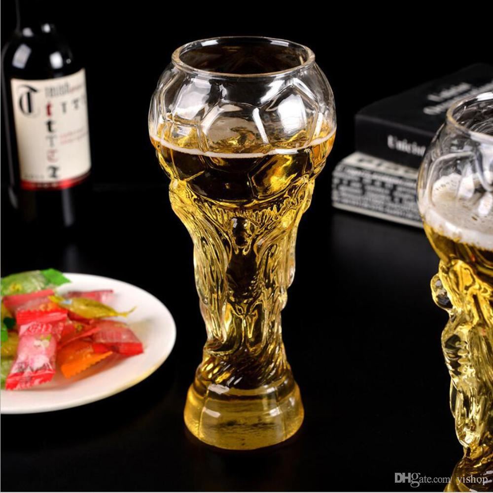450ML FIFA Beer Drinkware World Trophy Soccer Football Cup Gothic Glass Party Hercules Wine Mug Bar Cheers Juice