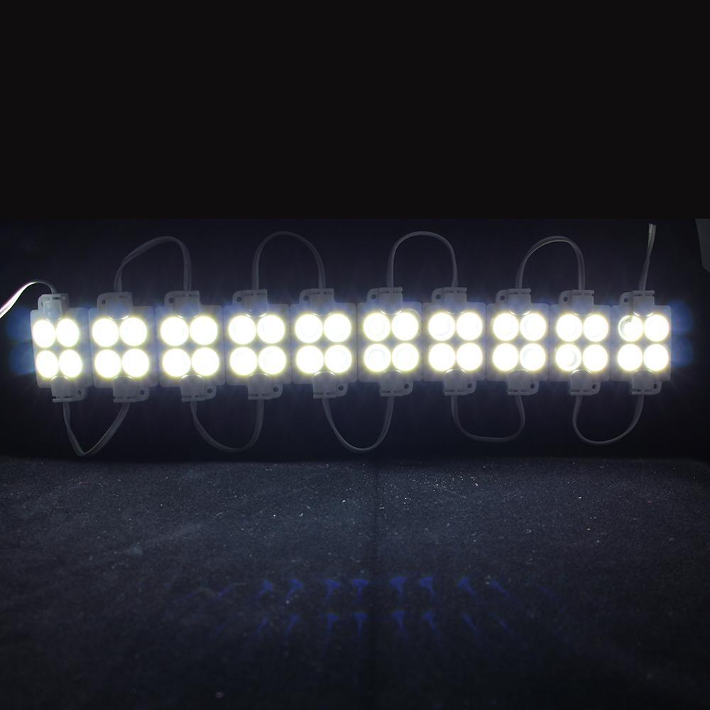 5730 4LED módulo led de inyección 12V a prueba de agua IP65, banner de tienda Módulos de retroiluminación de letreros LED, Módulos de caja de luz de publicidad