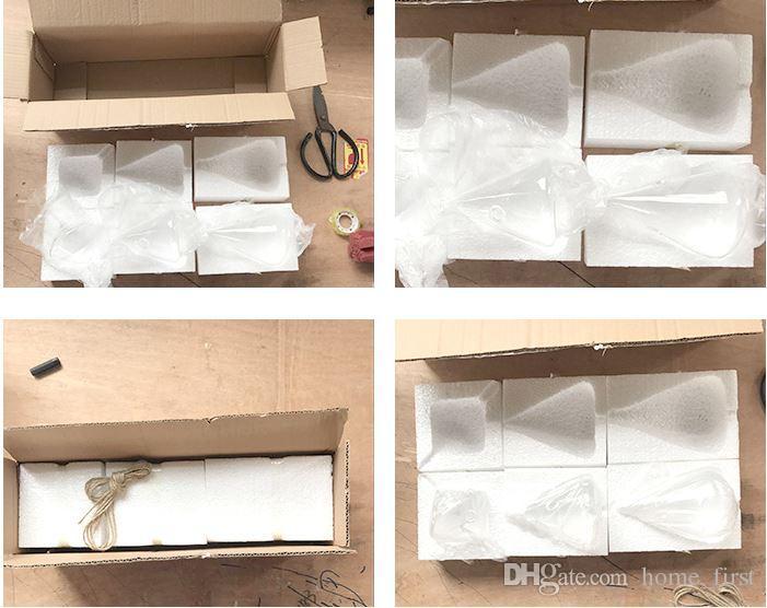 Modern Yaratıcı Mikro Peyzaj DIY Mini Bitki Asılı Duvar Cam Vazo Sanat Dekorasyon El Sanatları Balık Tankı Akvaryum Konteyner