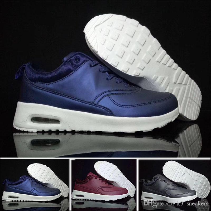 watch 128a6 0a2a8 Acquista Nike Air Max 90 Men s Shoes Nuovi Uomini Donna Scarpe Classiche 90  Uomini E Donne Scarpe Da Corsa Nero Rosso Bianco Sport Trainer Aria Cuscini  ...