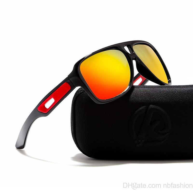 cb7352be1f8d1 Compre Óculos De Sol Homem Espelho Luz Polarizada Alta Arquivos Ao Ar Livre  Esporte Ciclismo Deslumbrante Cor Moda Óculos De Noble jewelry