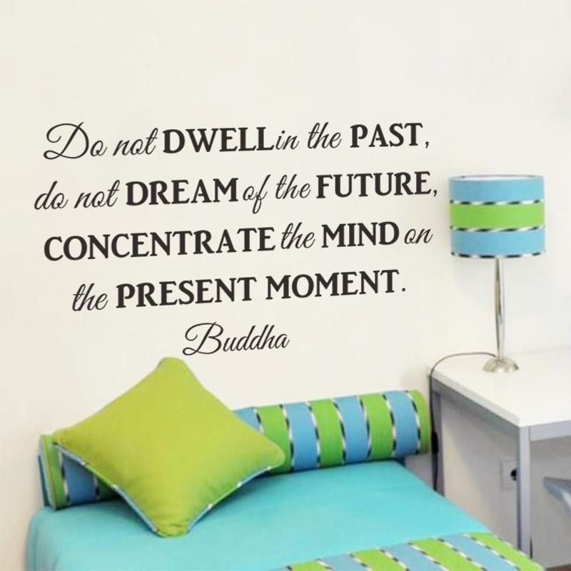 Do Not Dwell In The Past Inspirational Quotes Wall Art Bedroom Decor ...