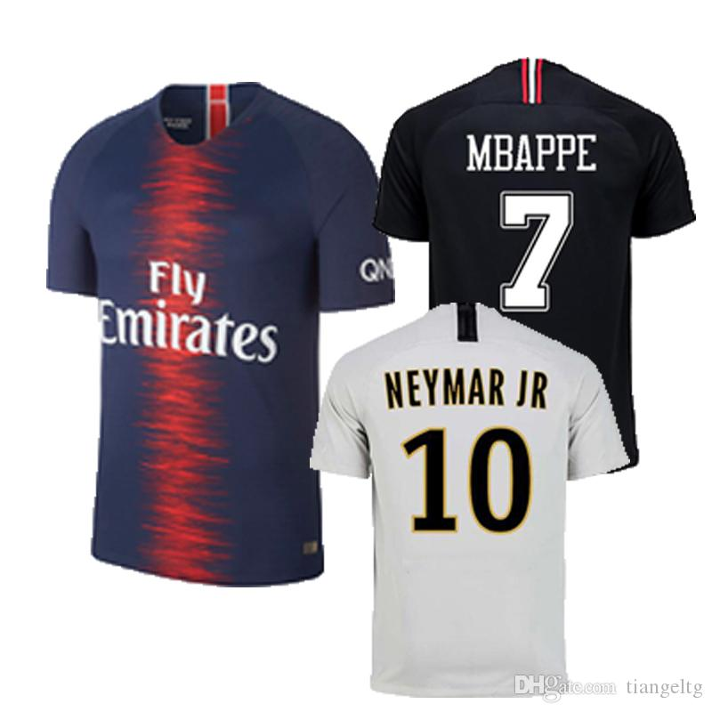 Compre Nuevo Paris Saint Germain PSG Kids Soccer Jersey 6 VERRATTI 7 MBAPPE  9 CAVANI Humedad Mecha Transpirable Fútbol Camisetas Uniforme 2019 A  16.09  Del ... 2d71b66dd09