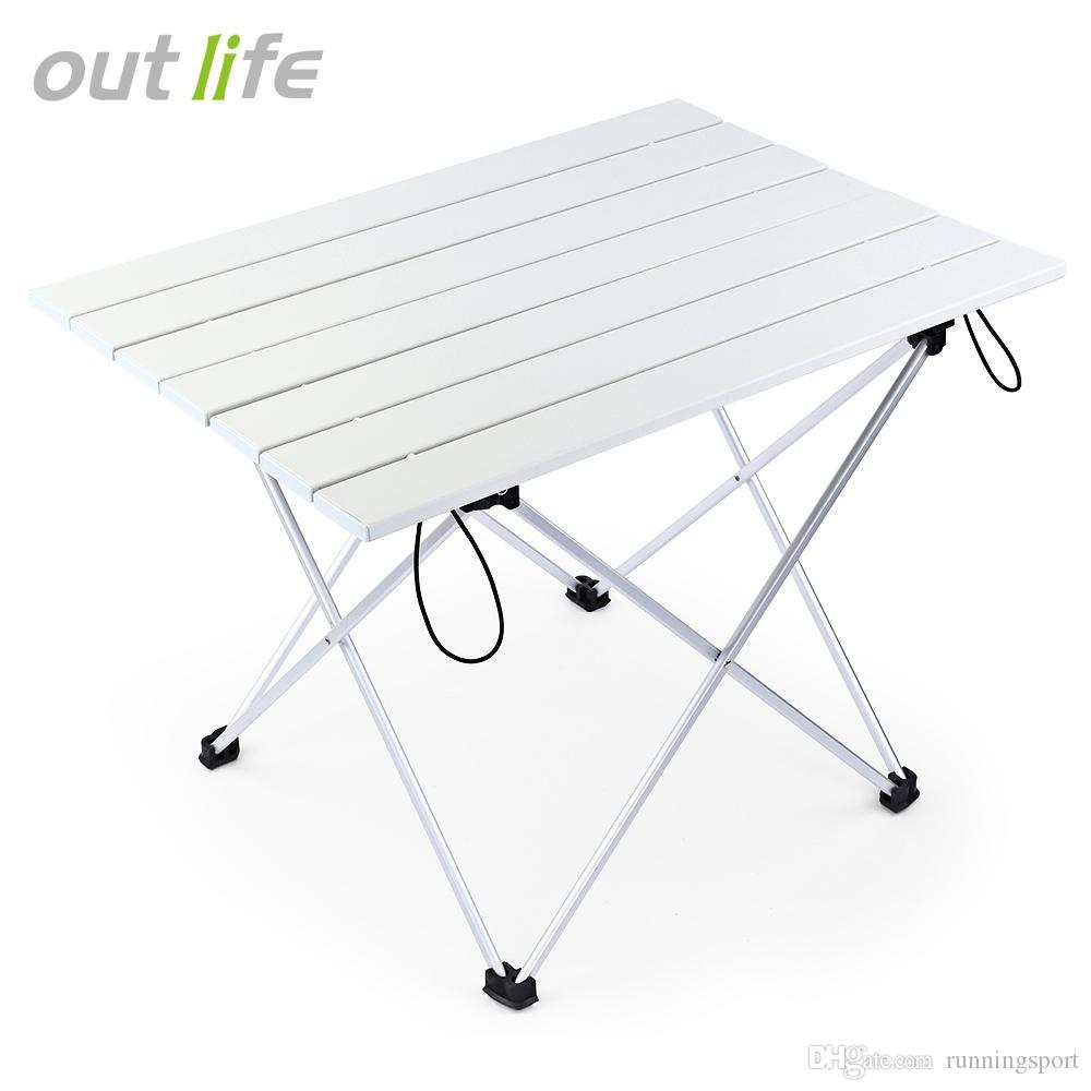 Outlife Table Desk Camping Picnic Aluminum Alloy Folding Table ...