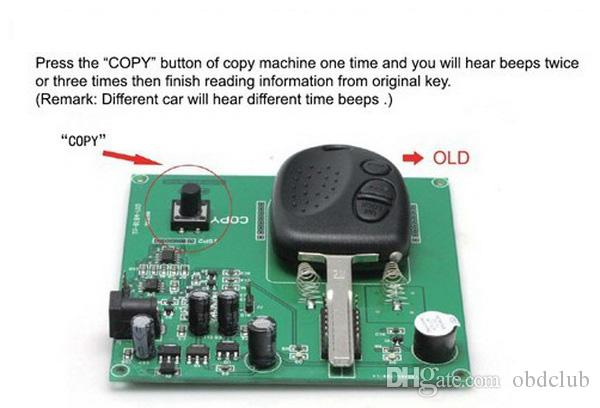 En iyi Uzaktan Anahtar Kopyalama Makinesi Için Chevrolet Anahtar fotokopi programcı Holden Holden Anahtar 3 Düğme Için 304 MHZ