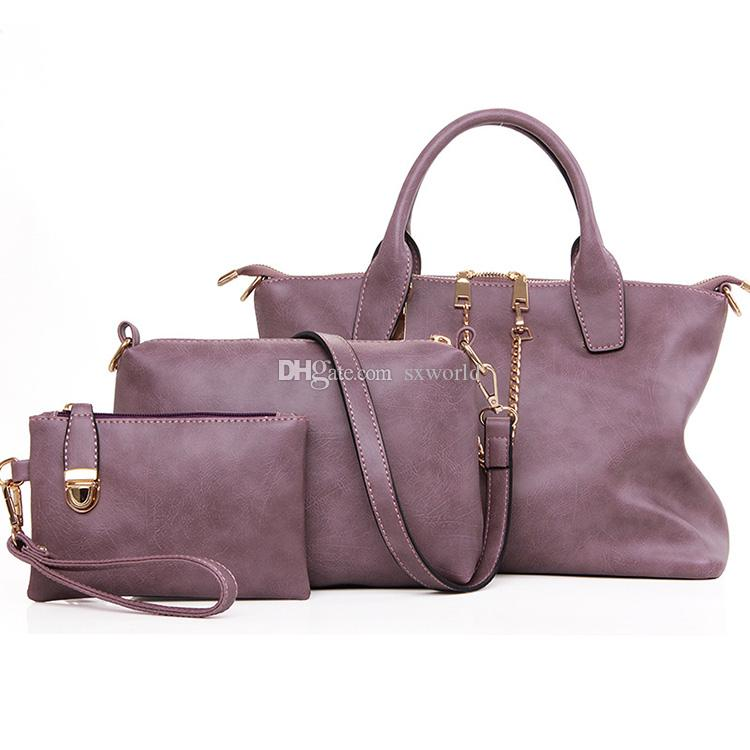 a5db8d75bd72 Fashion Purple Bags Women Handbags Set Purple Handbags Women Handbags Set Bags  Women Handbags Set Online with  19.01 Piece on Sxworld s Store