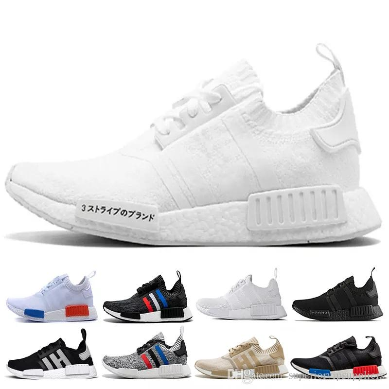 798627cc0 With BoxCheap Sale NMD R1 Triple Black White Red NBHD Men Women Running  Shoes Runner Sports Shoe Trainer Sneaker Size36 45 Best Running Shoes For  Women ...