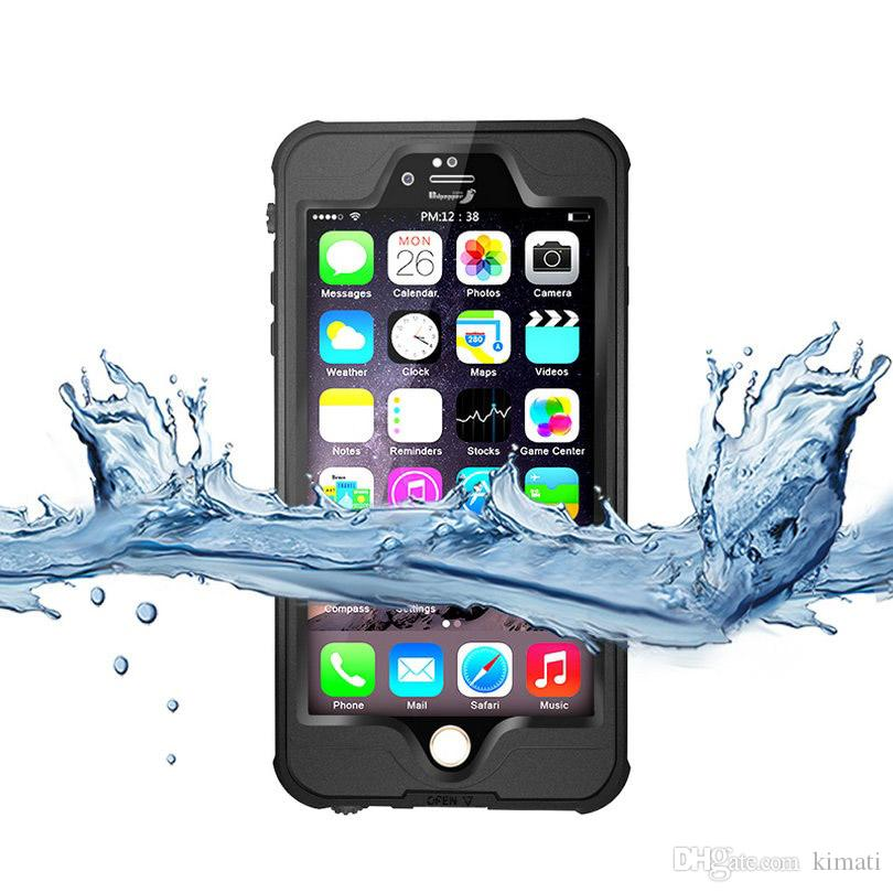 4.7 inch Entry-level Waterproof Silicone Soft TPU IP68 Case for iPhone 6s 6plus Water Proof Phone Protective Cover