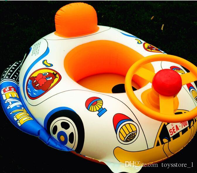2018 110 Car Horn Boat Baby Swimming Steering Wheel Trumpet Seat Will Call The Water Tanker Children Play Good Toys From Toysstore 1