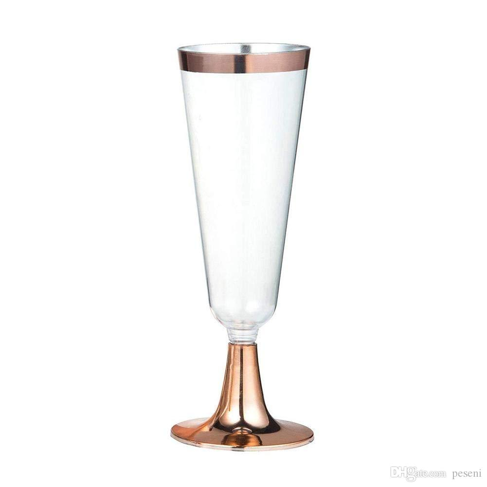2019 Disposable Plastic Red Wine Glass Wedding Toasting Champagne