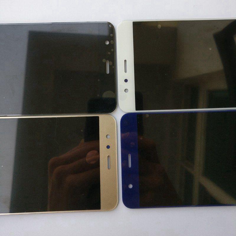 Huawei P10 Lite Için orijinal P10Lite WAS-LX2 WAS-LX1A WAS-L03T WAS-LX3 LCD Ekran Dokunmatik Ekran Digitizer Meclisi ile çerçeve