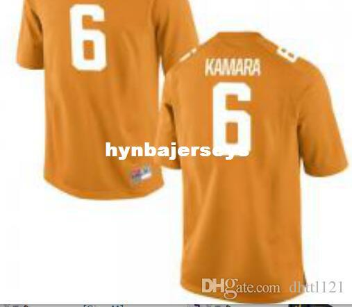 best sneakers 9b05a 8dc27 Cheap Men #6 Orange White Alvin Kamara Tennessee Volunteers Alumni jersey  Stitched Football jerseys