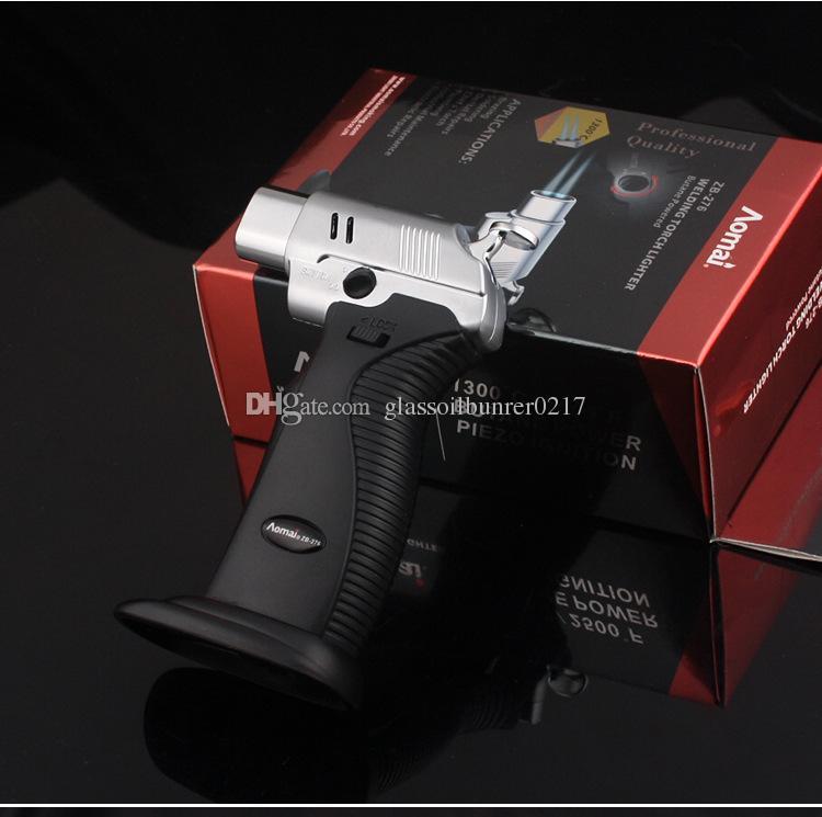 Çift alev Torch Lehimleme Lehimleme Ayarlanabilir Alev Bütan Gaz Meşalesi sigara çakmak Kaynak Torch Çakmak 1300C ücretsiz kargo