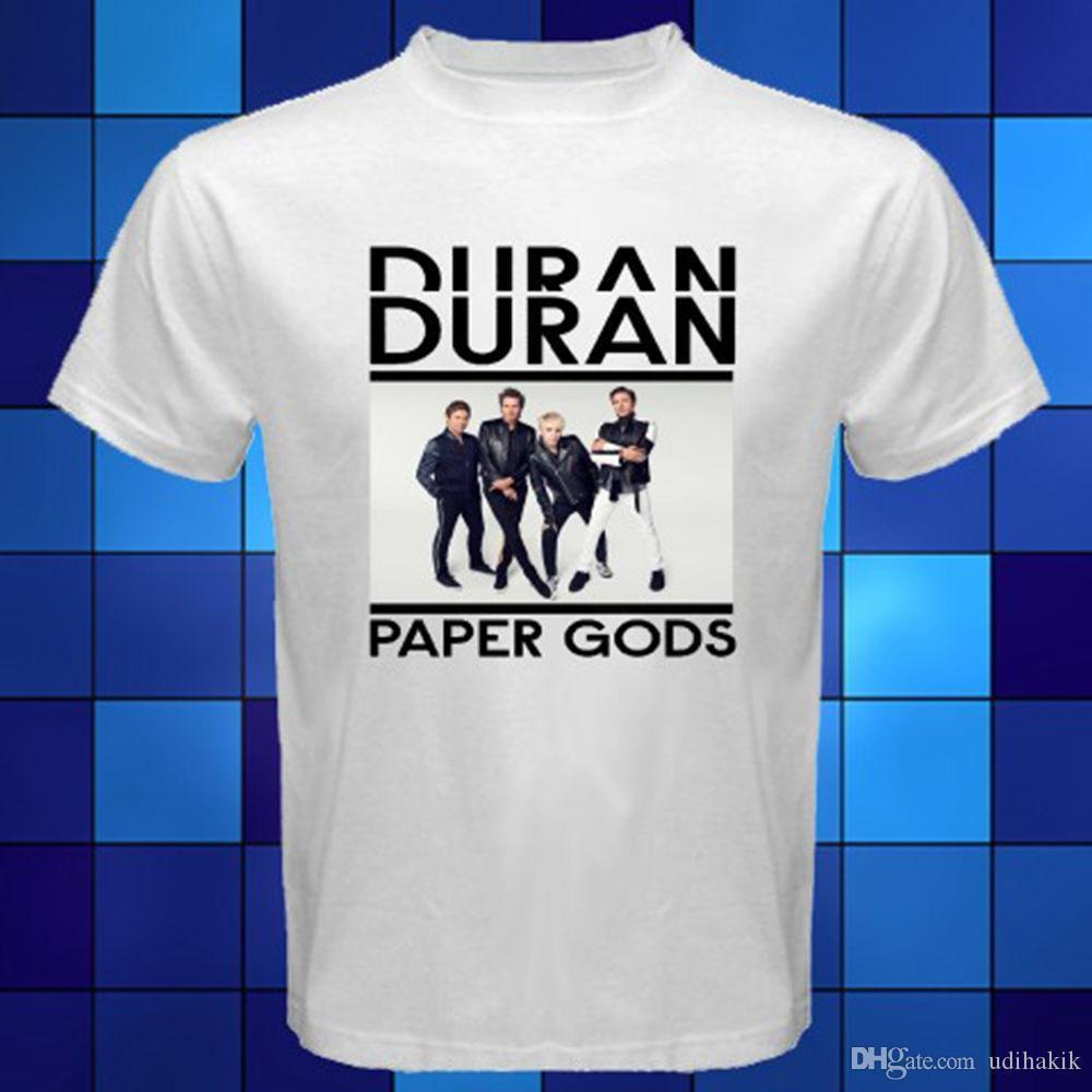 New T Paper 2018 White Man Music Gods Fashion Duran Acquista 35SALq4Rcj