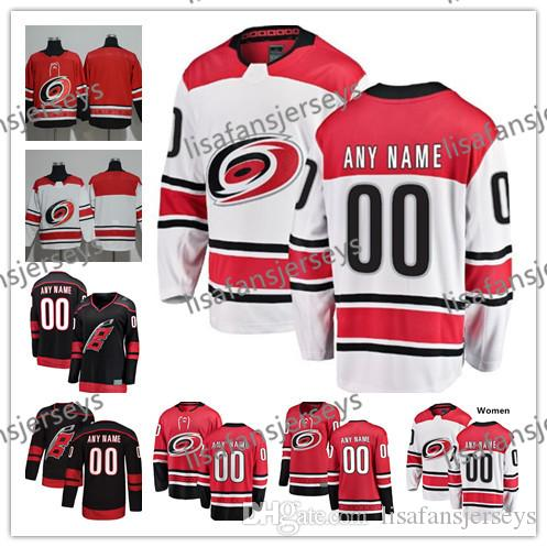 2019 Custom Carolina Hurricanes Hockey Jerseys 2018 New Brand Stitched Any  Number Name 27 Justin Faulk 53 Jeff Skinner Hockey Jersey S 4XL From ... f68fbd9cd