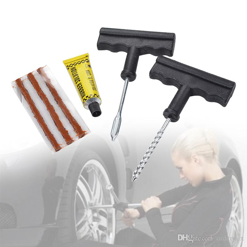 NEW Faster Repair Tools Kits Car Tubeless Tire Tyre Puncture Plug Car Auto Accessories Motorcycle Bicycle Portable