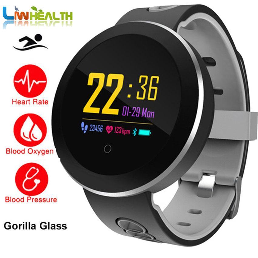 Gorilla IP68 Swim Smart Watch Heart Rate/Blood Pressure Health Fitness  Wrist Watch Men/Women For /Huawei/Moto/Xiaomi