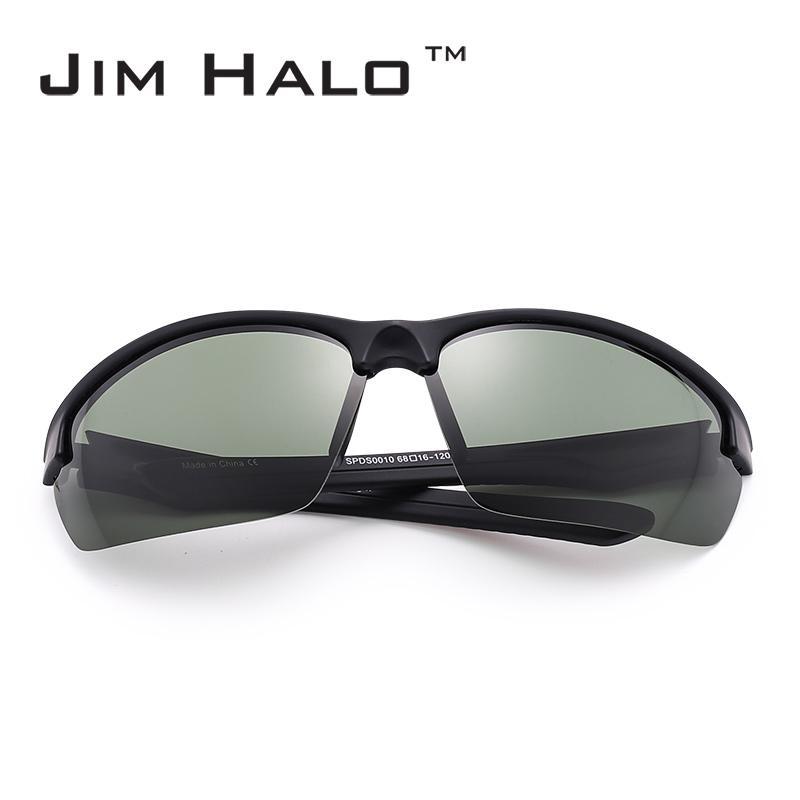 628eb0b49775 JM Outdoor Sports Wrap Polarized Sunglasses Men Women Semi Rimless Running  Fishing Hiking Biking Racing Goggles Oculos Gafas Sunglasses Uk Polarised  ...
