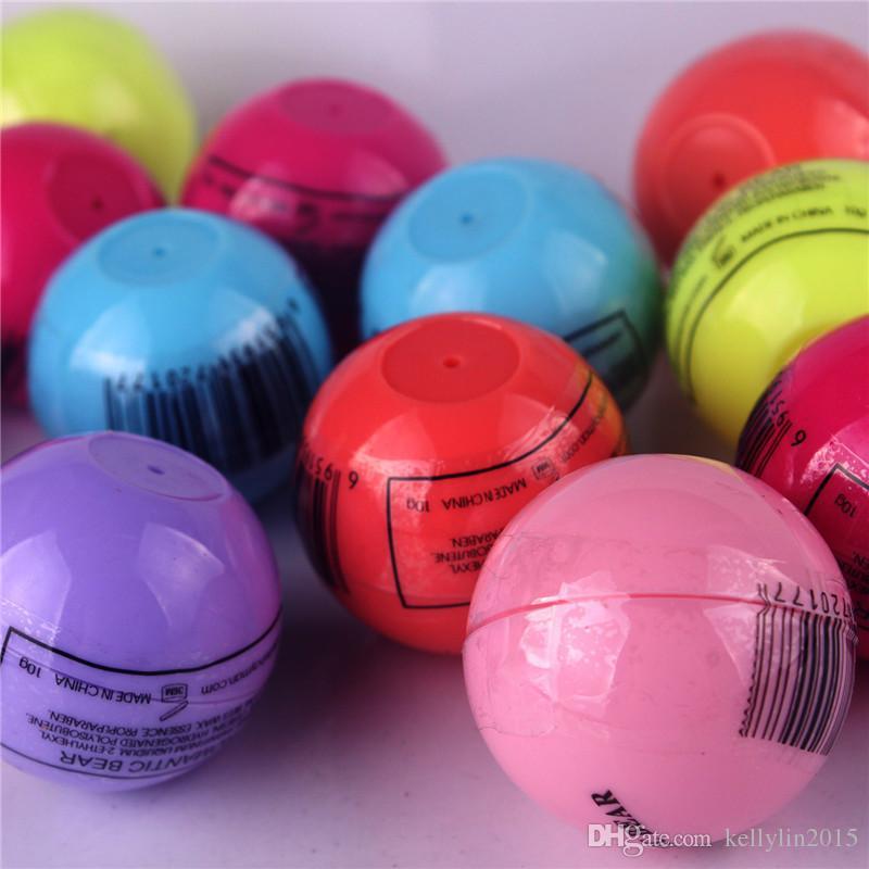 3D Round Ball Lipstick Makeup Lip Balm Moisturizing Natural Plant Sphere Fruit Pomade Lip Gloss Embellish Lip Care Lipgloss