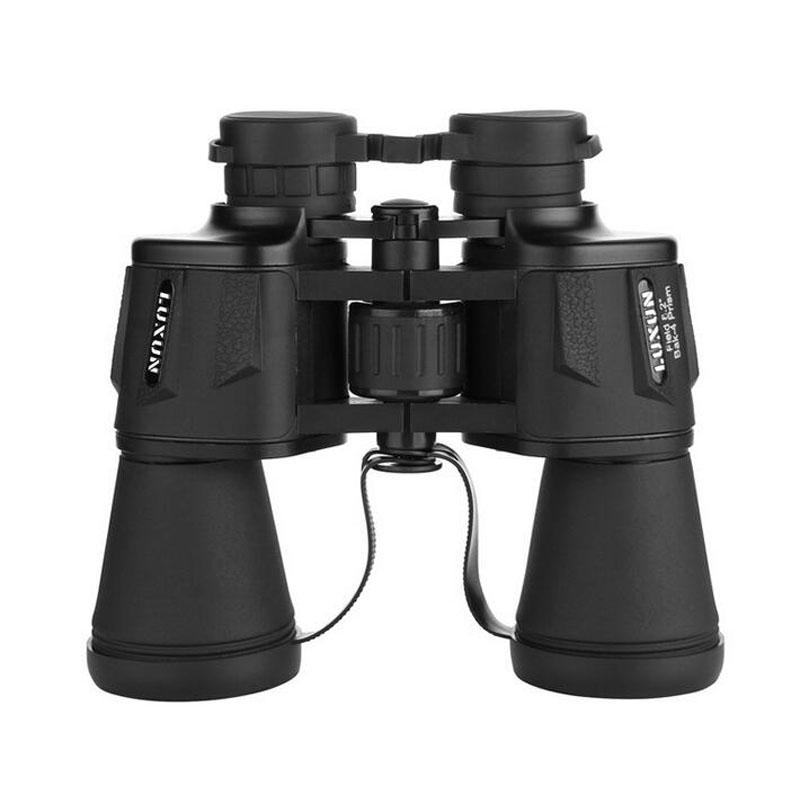 20x50 Zoom Optical Binocular Telescope - Black army green Outdoor Travel Camping Hunting Binoculars With Box Free Shipping