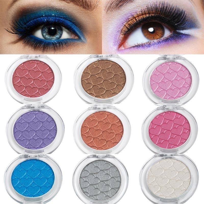 d377971e1cd Available Natural Pop Color Matte Eyeshadow Makeup Pure Color Eye Shadow  Glitter Cosmetics For Women Girls Glitter Eyeshadow Makeup For Brown Eyes  From ...